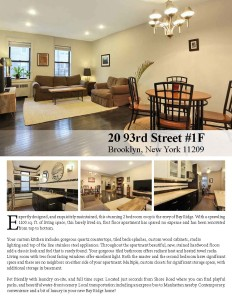 Bay Ridge Apartment For Sale